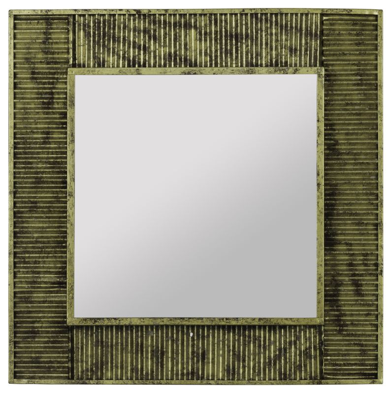"Cooper Classics 40726 Malden 20"" X 20"" Square Wall Mirror Antique Gold"