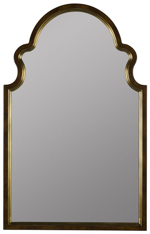 "Cooper Classics 40853 Reon 38""H X 24"" Mirror Cherry and Gold Home"