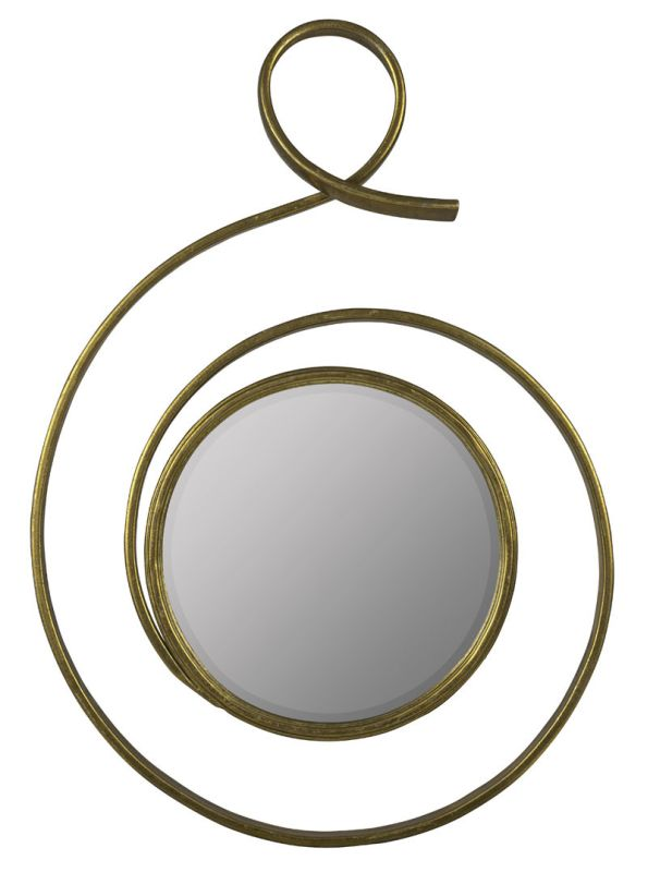 "Cooper Classics 40901 Kostya 40"" X 32"" Mirror Shimmering Gold Home"