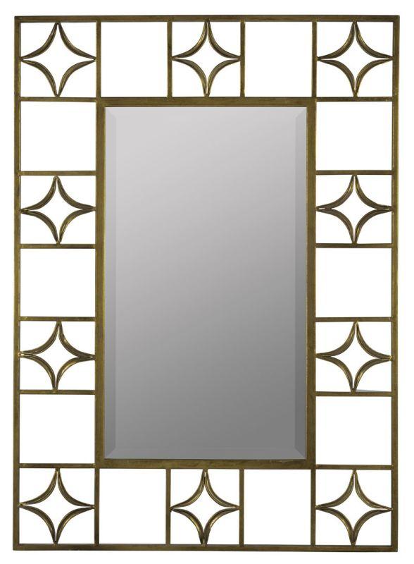 "Cooper Classics 40908 Hansel 48"" X 36"" Mirror Antique Gold Home Decor"