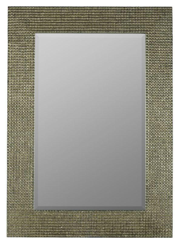 "Cooper Classics 40909 Tymon 48"" X 37"" Mirror Tarnished Silver Home"