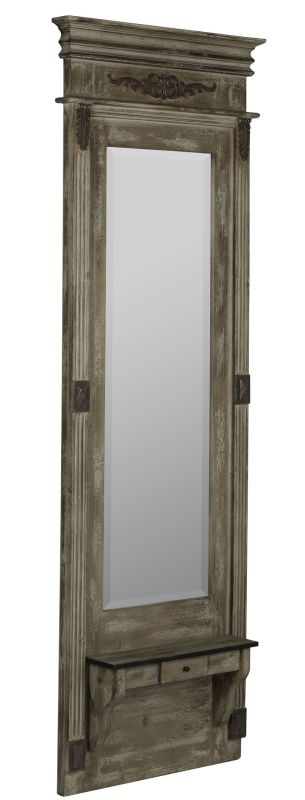 "Cooper Classics 40945 Lordes 84"" X 34"" Mirror Antiqued Wood Home Decor"