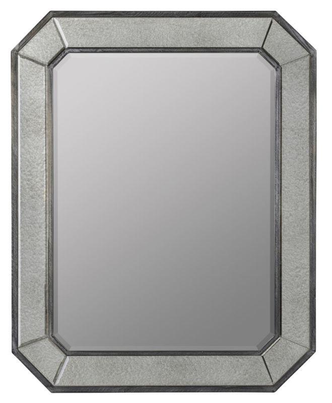 """Cooper Classics 40978 Donato 45"""" X 38"""" Mirror Grey Washed Home Decor"""