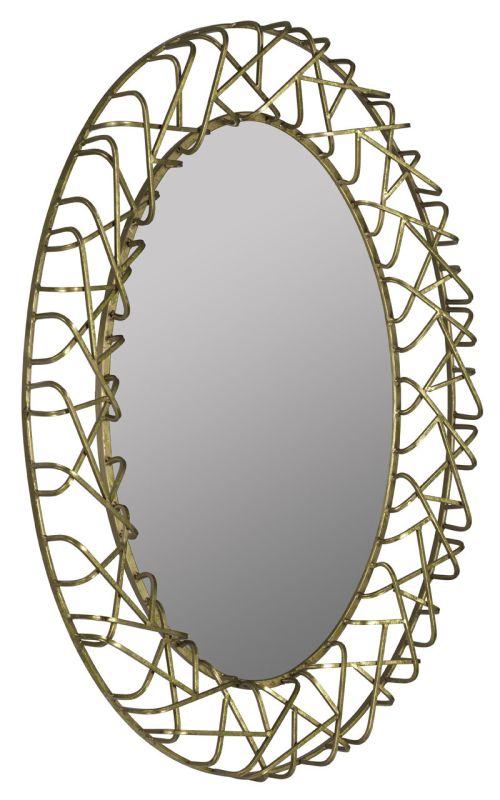 """Cooper Classics 40983 Orson 39"""" X 38"""" Mirror Gold Leaf Home Decor"""