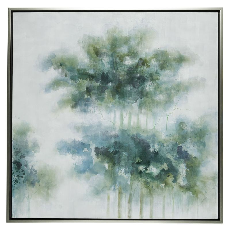 "Cooper Classics 40998 Mystic 54"" X 54"" Painting Silver Home Decor"