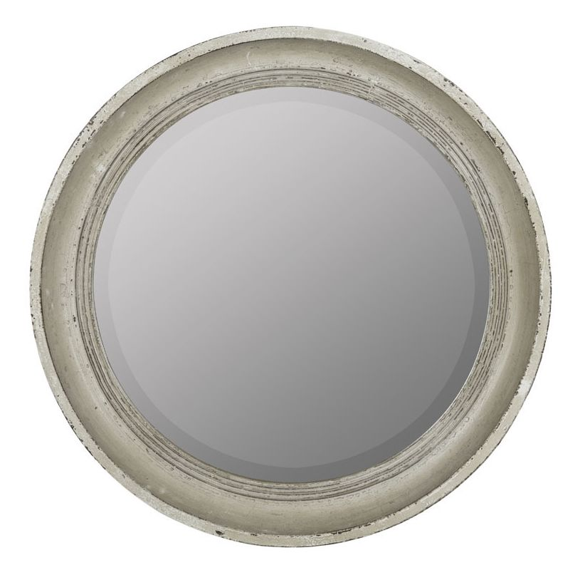 """Cooper Classics 41025 Chipta 31"""" X 31"""" Mirror Distressed Cream Home"""