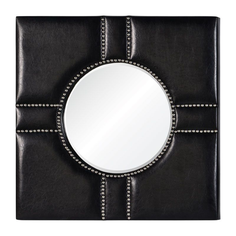 "Cooper Classics 41034 Quentin 32"" X 32"" Mirror Black Home Decor"