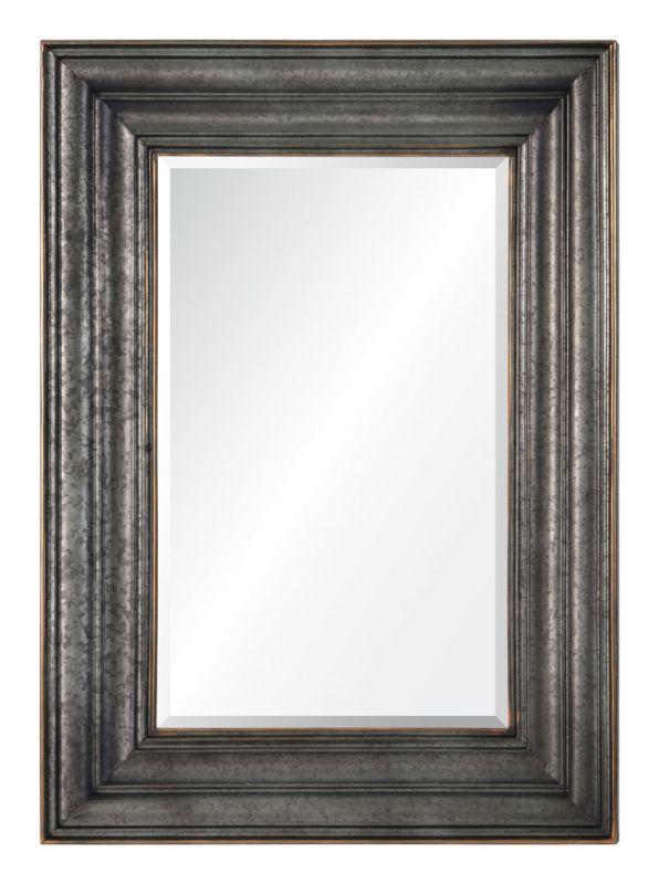"Cooper Classics 41040 Oswald 44"" X 32"" Mirror Galvanized Metal Home"