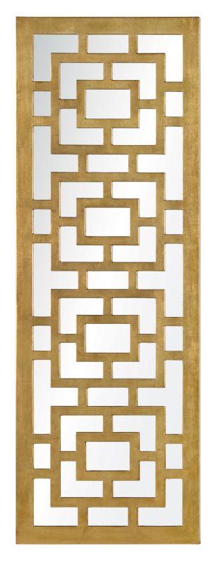 "Cooper Classics 41045 Eleanor 48"" X 17"" Mirror Gold Leaf Home Decor"