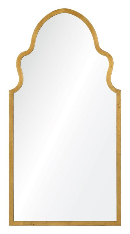 "Cooper Classics 41047 Lincoln 38"" X 19.75"" Mirror Textured Gold Home"