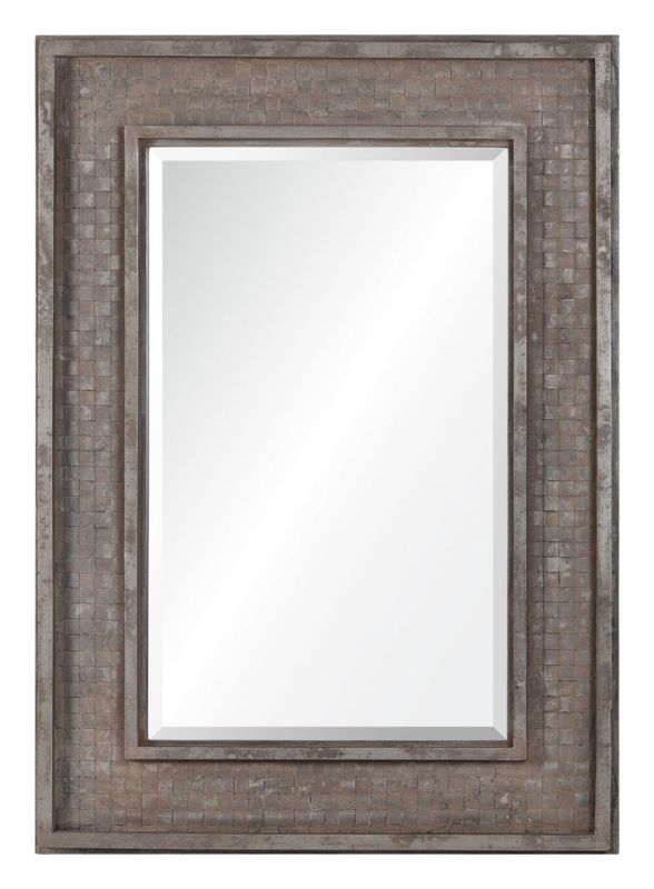 "Cooper Classics 41049 Pendle 42"" X 30"" Mirror Rusted Brown Home Decor"