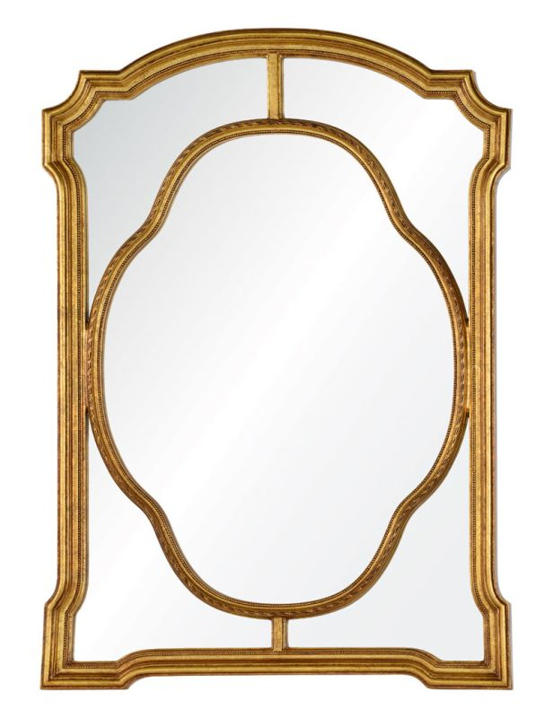 "Cooper Classics 41060 Cato 49"" X 35.5"" Mirror Antiqued Gold Home Decor"