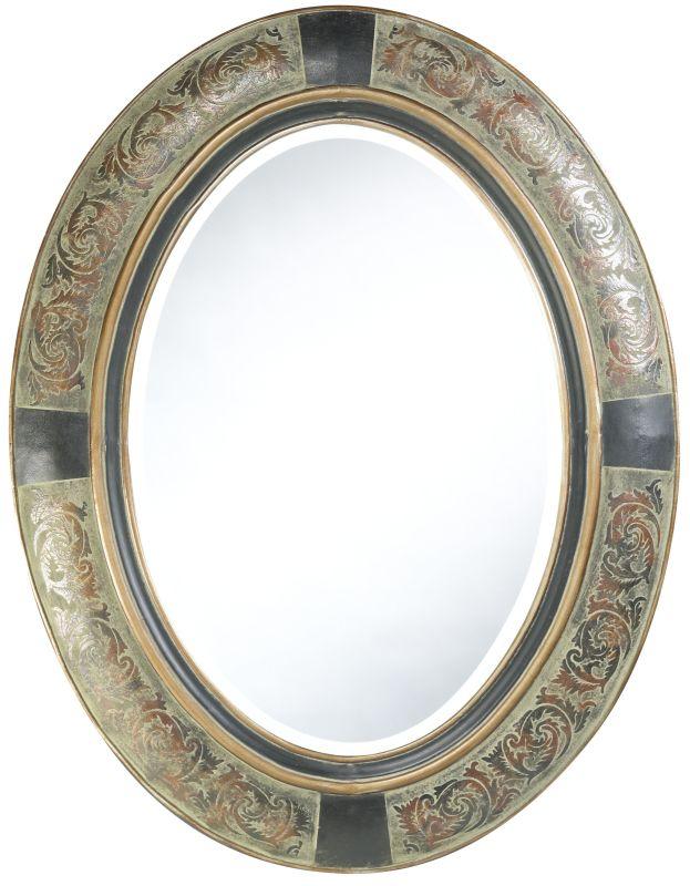 "Cooper Classics 4799 Sawyer 35"" X 27"" Wall Mirror Aged Verdigris Home"