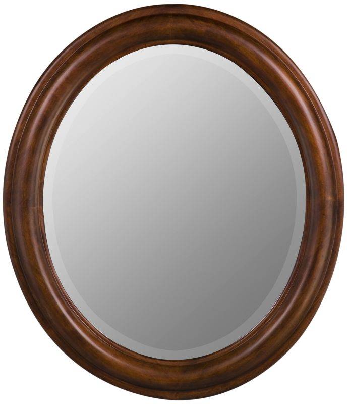 "Cooper Classics 5790 Addison Oval 30"" X 26"" Wall Mirror Vineyard Home"