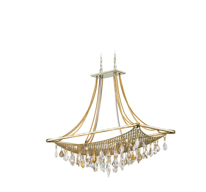 Corbett Lighting 125-58 Eight Light Large Island / Billiard Fixture Sale $3188.00 ITEM: bci1356793 ID#:125-58 UPC: 782042750364 :