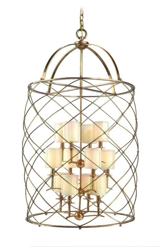 Corbett Lighting 13-412 Pendant from the Argyle Collection Aged Brass