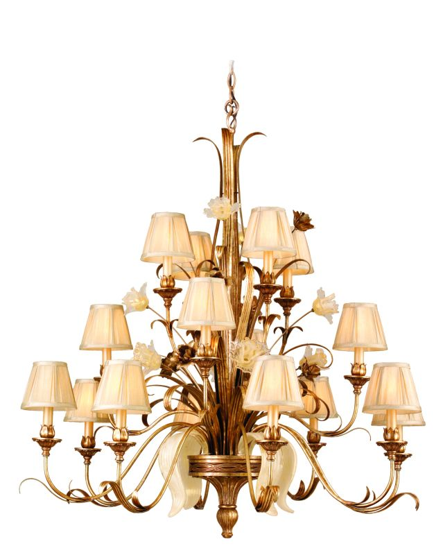 Corbett Lighting 49-016 Chandelier from the Tivoli Collection Tivoli