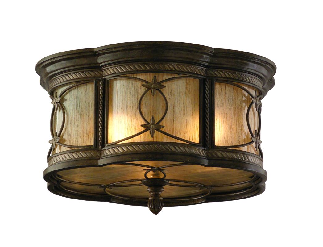 Corbett Lighting 67-33 Wrought Iron 3 Light Flushmount Ceiling Fixture Sale $281.54 ITEM: bci576758 ID#:67-33 UPC: 782042895416 :