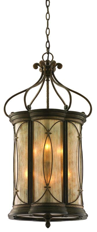 Foyer Chandelier Wrought Iron : Corbett lighting moritz bronze finish wrought iron