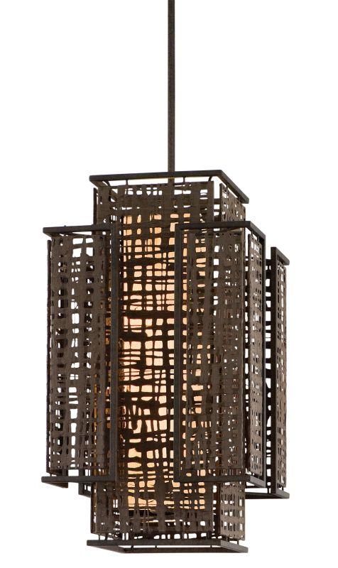 Corbett Lighting 105-72 Shoji 2 Light Pendant with Hand Crafted Iron Sale $1094.00 ITEM: bci1356970 ID#:105-72 UPC: 782042992405 :