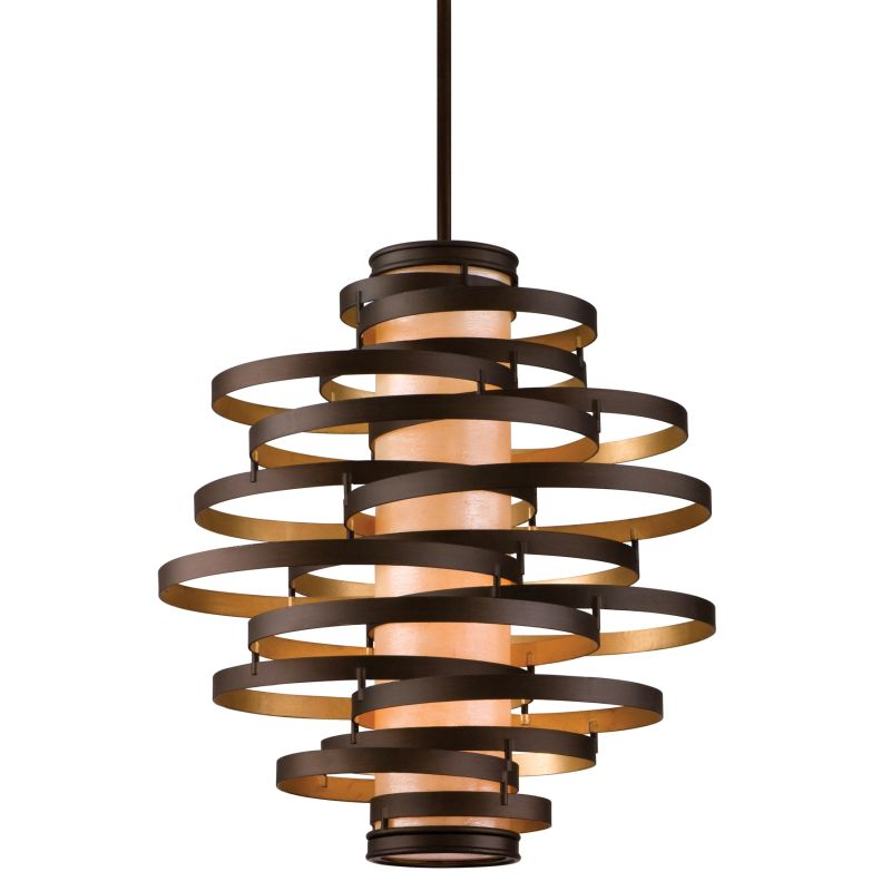 Corbett Lighting 113-44 Bronze / Gold Leaf Vertigo 4 Light