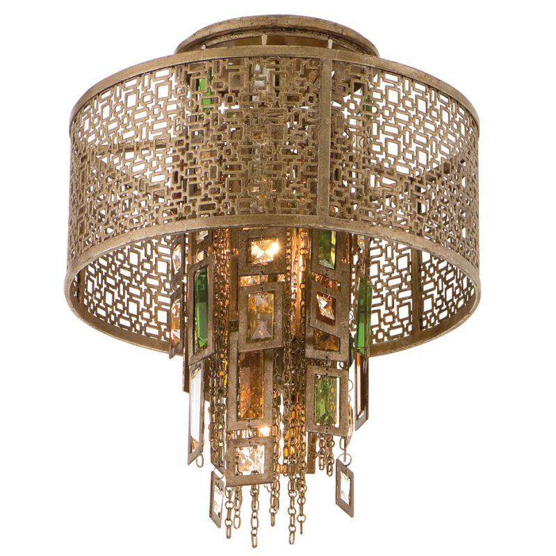 Corbett Lighting 123-31 Riviera 1 Light Semi-Flush Ceiling Fixture