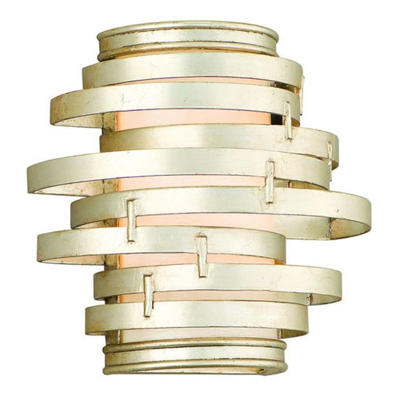 Corbett Lighting 128-13-F Vertigo 3 Light Modern Wall Sconce with Hand