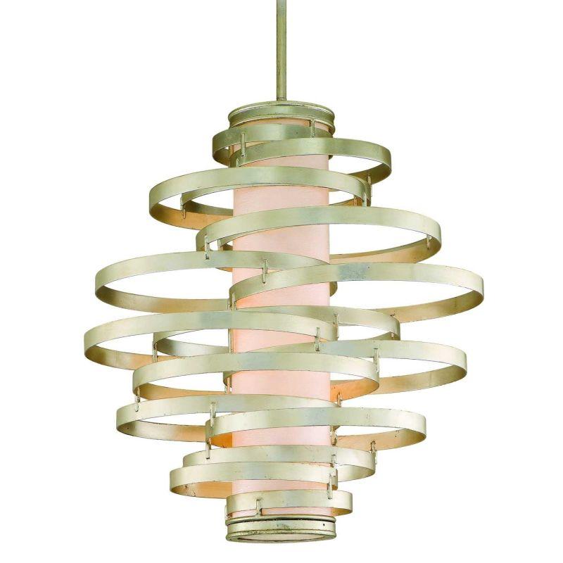 corbett lighting 128 76 modern silver vertigo 6 light