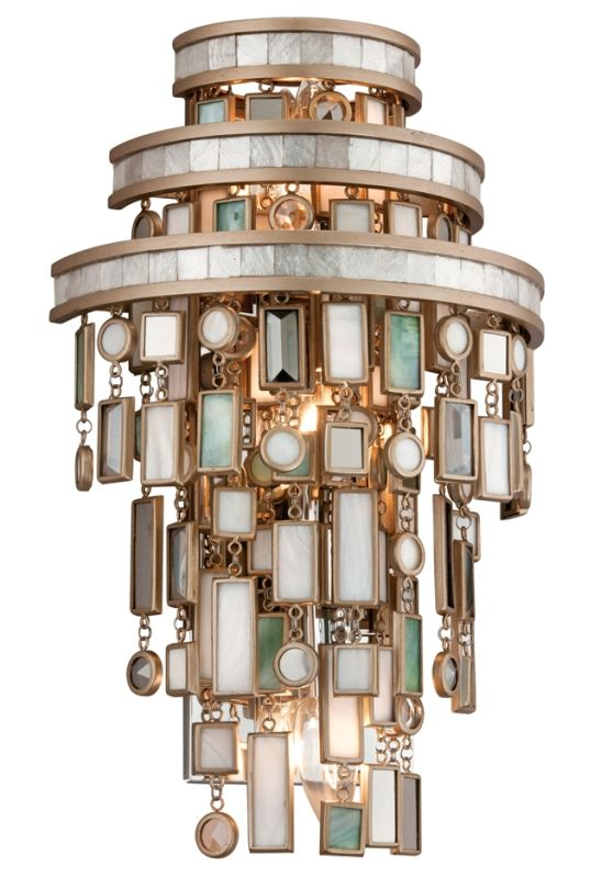 Corbett Lighting 142-13 Dolcetti 3 Light Wall Sconce with Hand Crafted