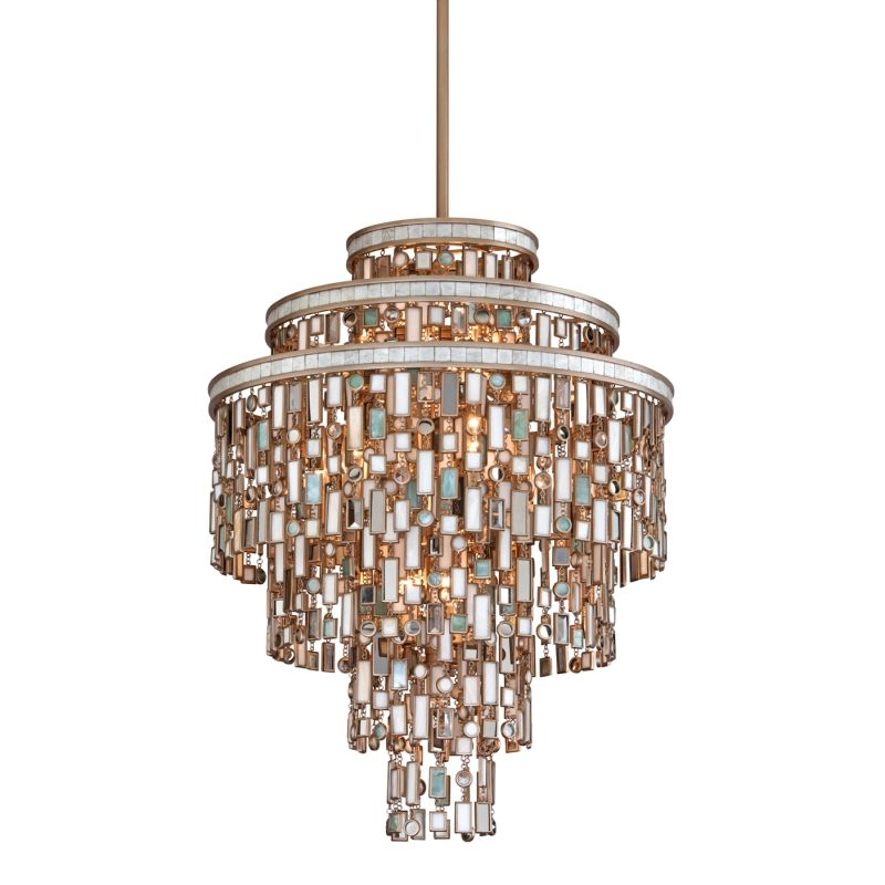Corbett Lighting 142-413 Dolcetti 13 Light Pendant with Hand Crafted