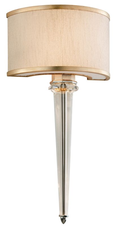 Corbett Lighting 166-12 Harlow 2 Light Wall Sconce with Hand Crafted