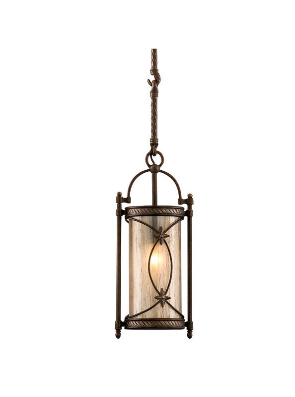 Corbett Lighting 67-41 Wrought Iron 1 Light Mini Pendant from the St.
