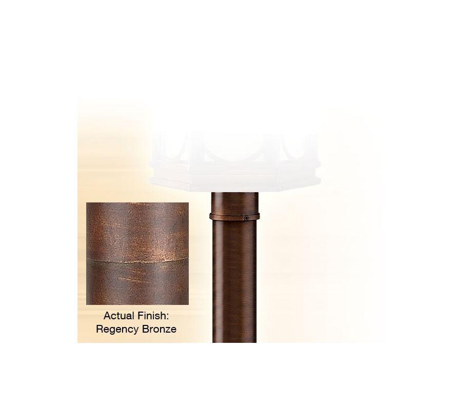 """Corbett Lighting CPM-84 3"""" Outdoor Post Light Post Regency Bronze"""