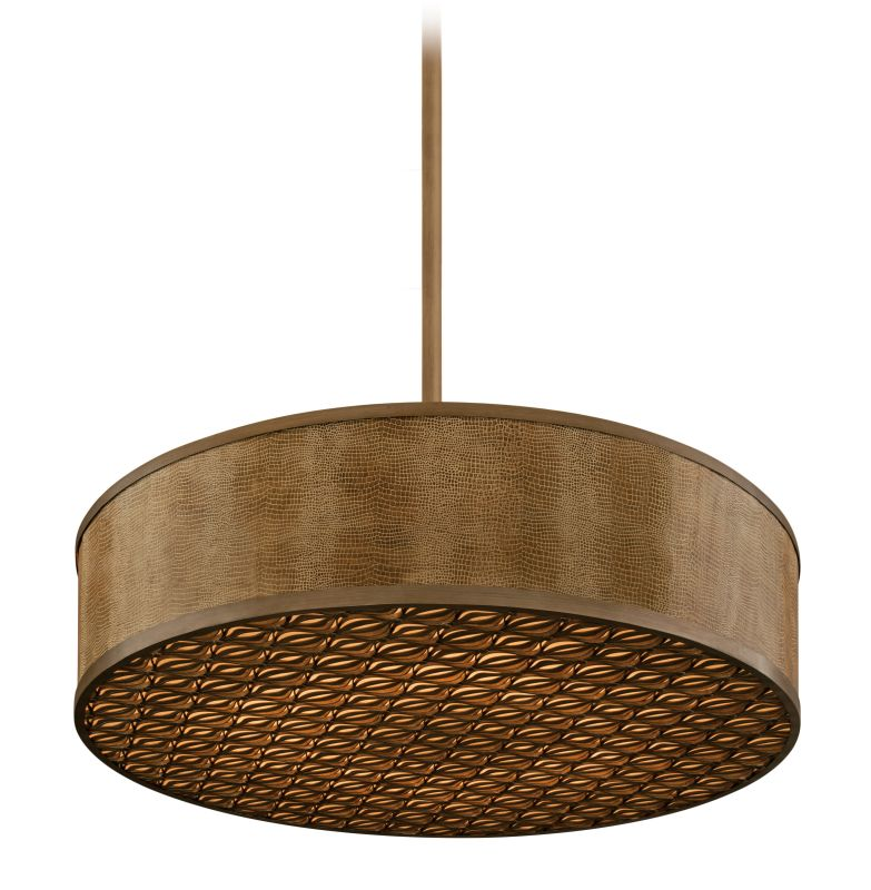 Corbett Lighting 135-410 10 Light Incandescent Hand Crafted Iron Drum