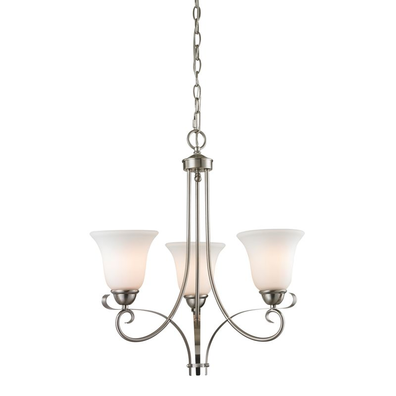 Cornerstone Lighting 1003CH Brighton 3 Light 1 Tier Chandelier with Sale $198.00 ITEM: bci2269496 ID#:1003CH/20 UPC: 830335021629 :