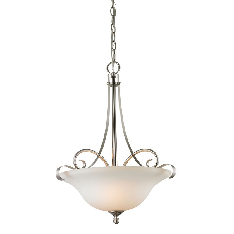 Cornerstone Lighting 1003PL Brighton 3 Light Bowl Pendant with Frosted Sale $198.00 ITEM: bci2269500 ID#:1003PL/20 UPC: 830335021667 :