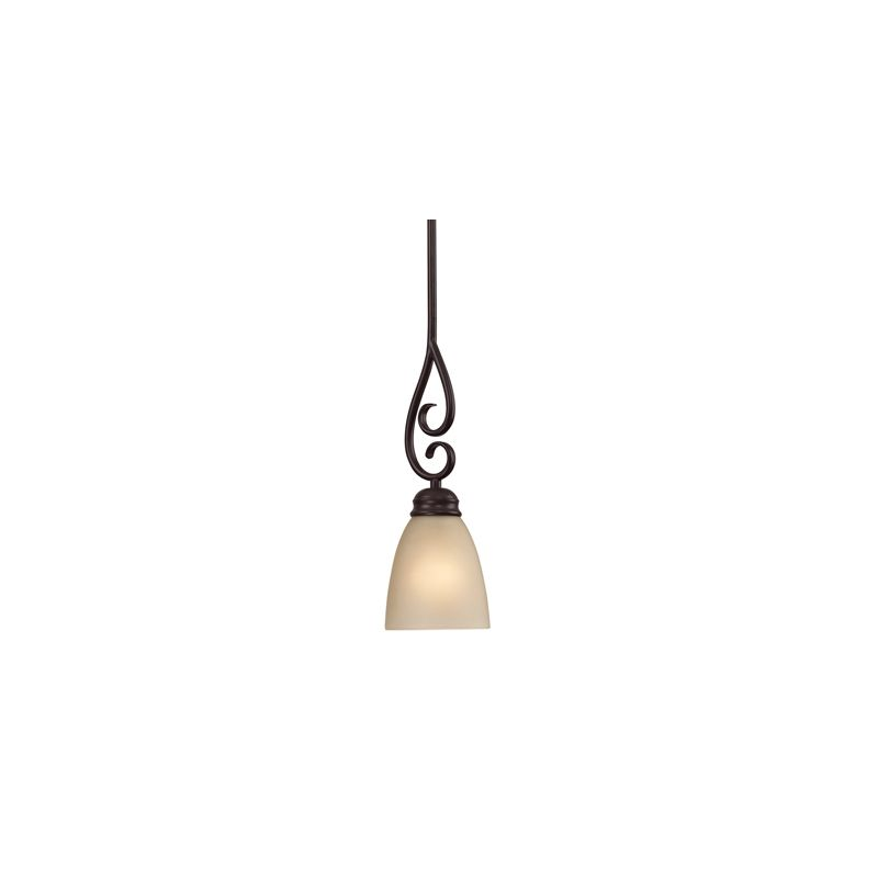 Cornerstone Lighting 1101PS Chatham 1 Light Mini Pendant with Frosted
