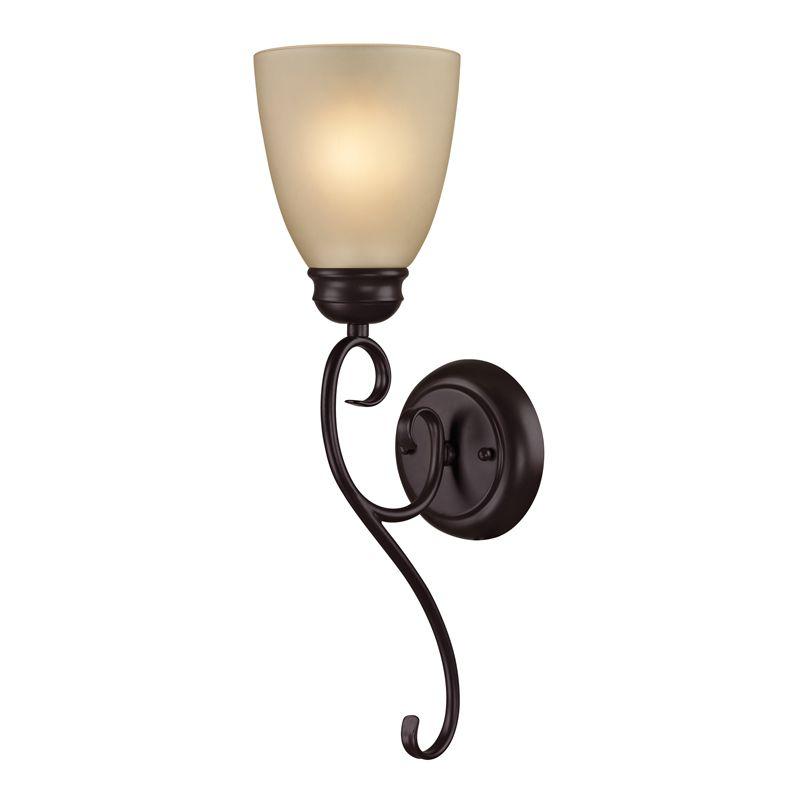 Cornerstone Lighting 1101WS Chatham 1 Light Bathroom Sconce with
