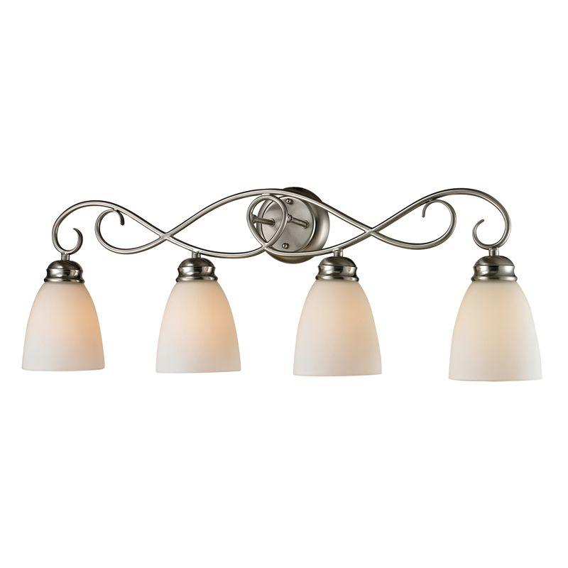 Cornerstone Lighting 1104BB Chatham 4 Light Bathroom Vanity Light with
