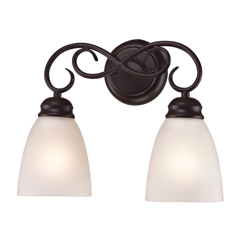 Cornerstone Lighting 1152BB Chatham 2 Light Vanity Light Oil Rubbed Sale $98.00 ITEM: bci2673799 ID#:1152BB/10 UPC: 748119076621 :