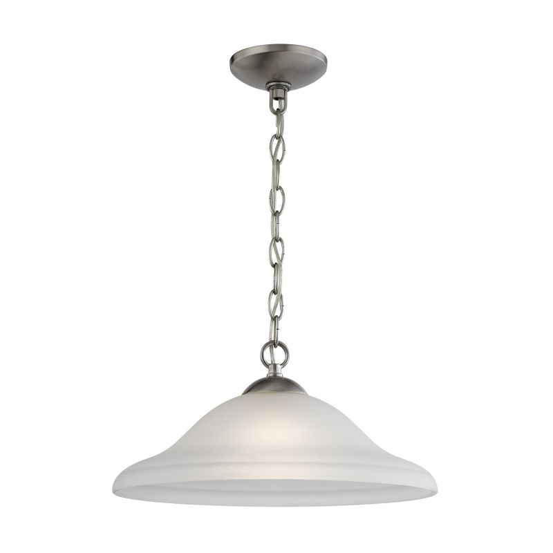 Cornerstone Lighting 1201PL Conway 1 Light Full Sized Pendant Brushed