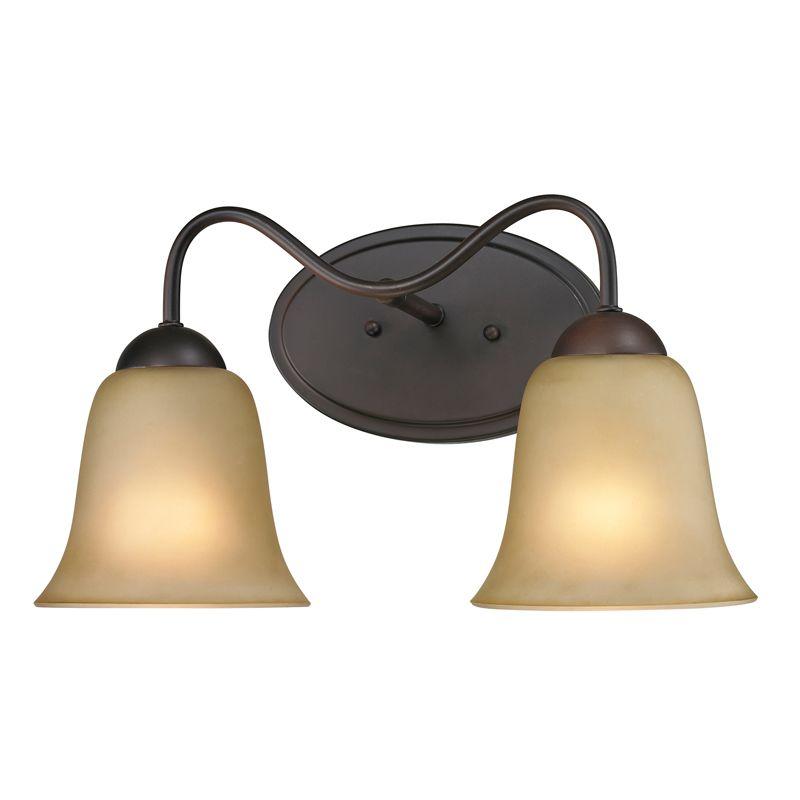 Cornerstone Lighting 1202BB Conway 2 Light Bathroom Vanity Light with