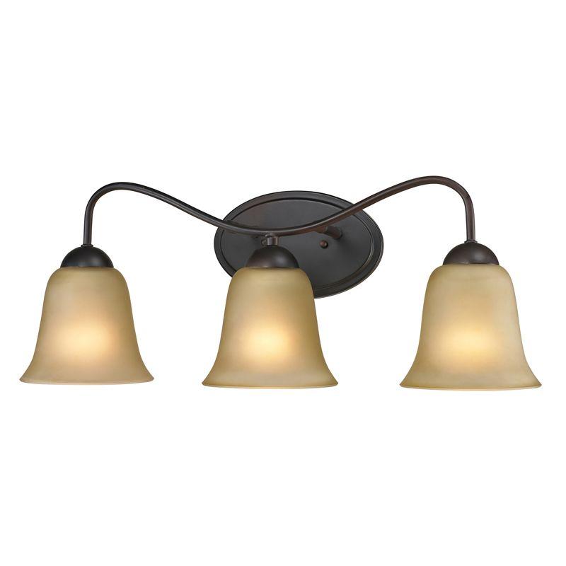 Cornerstone Lighting 1203BB Conway 3 Light Bathroom Vanity Light with