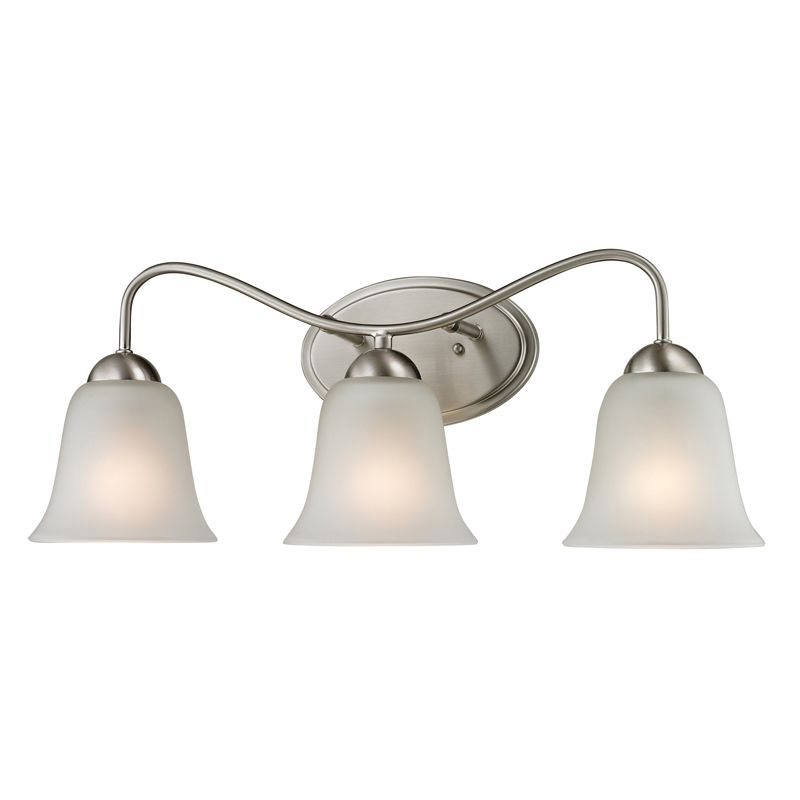 Cornerstone Lighting 1203BB Conway 3 Light Bathroom Vanity Light with