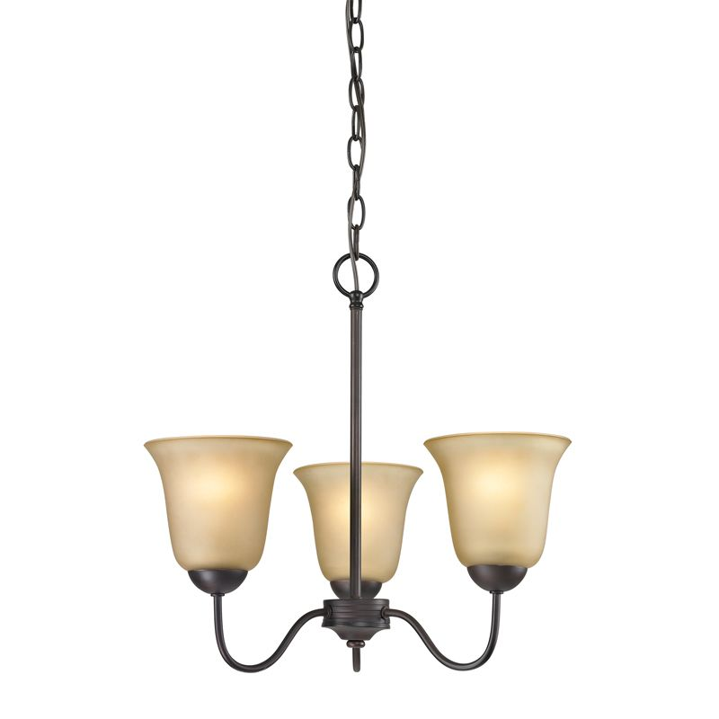 Cornerstone Lighting 1203CH Conway 3 Light 1 Tier Chandelier with