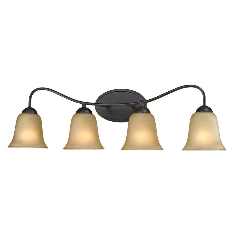 Cornerstone Lighting 1204BB Conway 4 Light Bathroom Vanity Light with