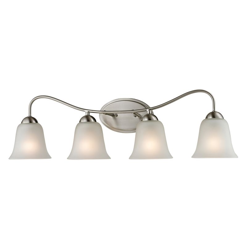 Cornerstone Lighting 1204BB Conway 4 Light Bathroom Vanity Light with