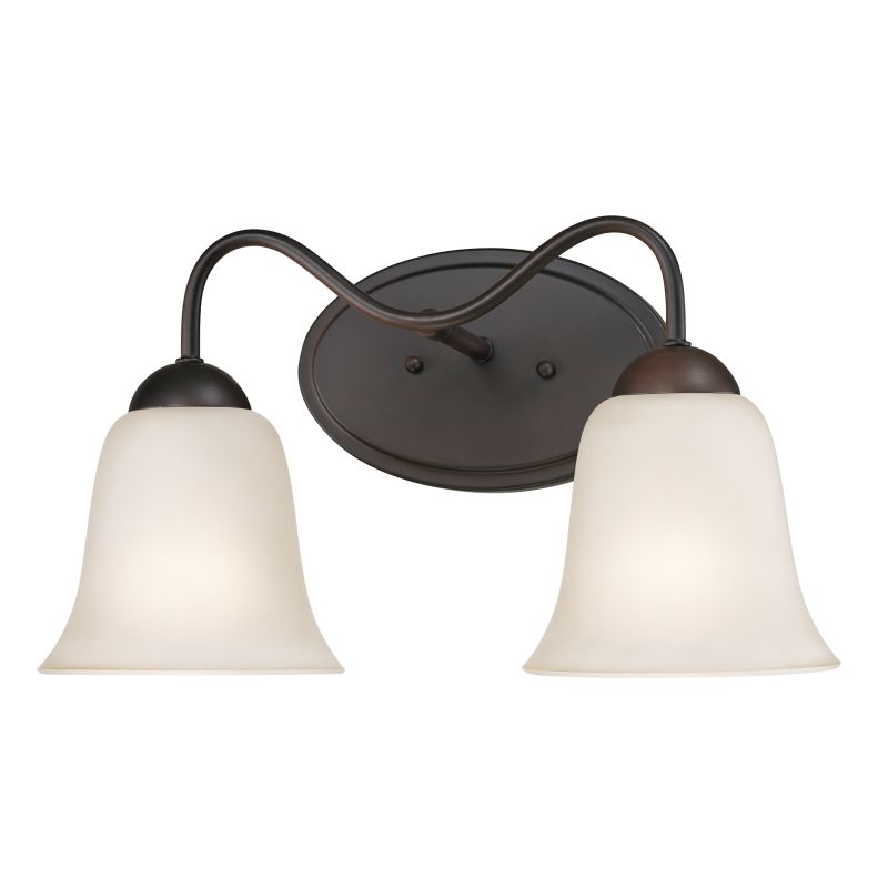 Cornerstone Lighting 1252BB Conway 2 Light Vanity Light Oil Rubbed
