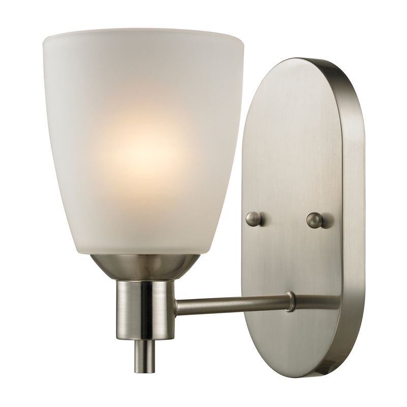 Cornerstone Lighting 1301WS Jackson 1 Light Bathroom Sconce with