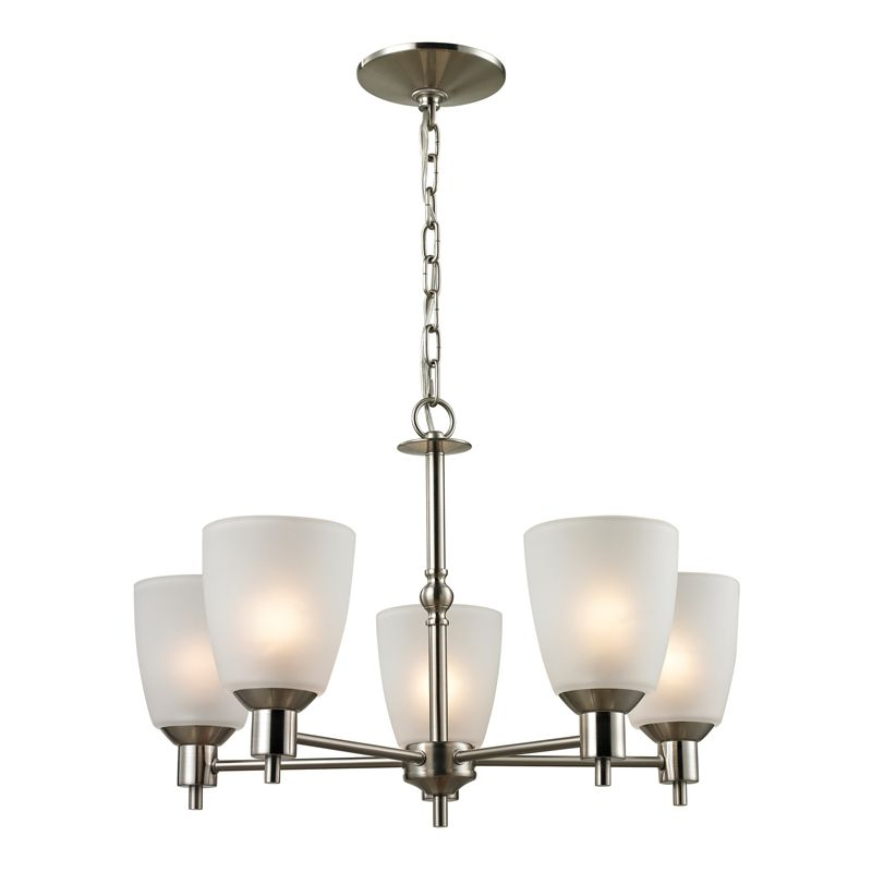 Cornerstone Lighting 1305CH Jackson 5 Light 1 Tier Chandelier with